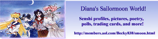 Diana's Sailor Moon World Banner